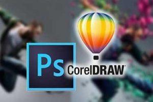 Quais são as diferenças entre o CorelDRAW e o Photoshop?